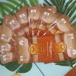 Mặt nạ giấy nhau thai cừu mỹ phẩm Hàn Quốc chính hãng dưỡng da cao cấp 3W Clinic Fresh Placenta mask sheet