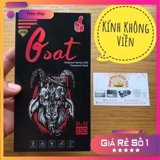 [SIÊU PHẨM KHÔNG VIỀN] Miếng Dán Màn Hình Kính Cường Lực Iphone Không Viền Goat Con Dê 9H 25D, Hạn Chế Bám Vân Tay 80% thumbnail
