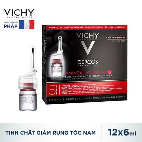 Dưỡng chất giúp dưỡng tóc & giảm rụng tóc dành cho nam Vichy Aminexil Sp94 Anti-Hairloss Treatment For Men 12x6ml