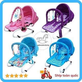 [ GIÁ RẺ ] Ghế rung nhún – Ghế nằm có đồ chơi cho bé