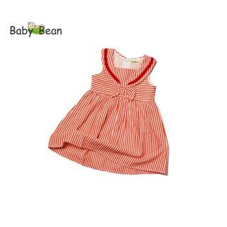 Đầm Cotton Sọc cổ Thủy Thủ bé gái BabyBean (8kg - 20kg)