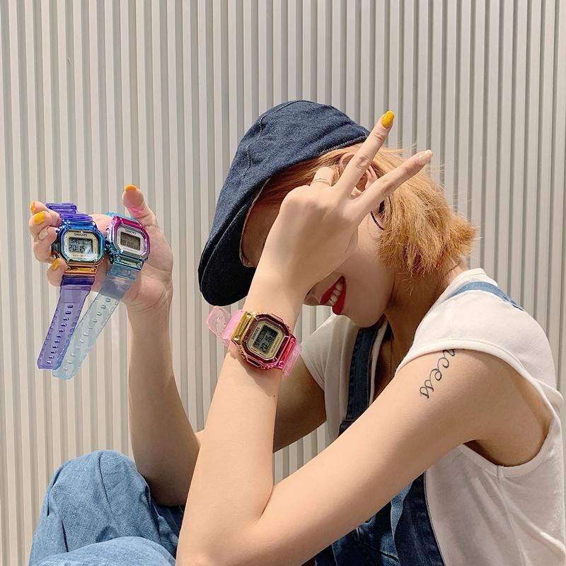 Đồng hồ điện tử nữ Unicorn nhiều màu dễ thương cực xinh siêu đẹp sang trọng cá tính