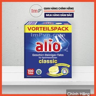 [Mã 157FMCGSALE giảm 8% đơn 500K] [TRỢ GIÁ THƯƠNG HIỆU] Viên rửa bát Alio Classic 100 viên thumbnail