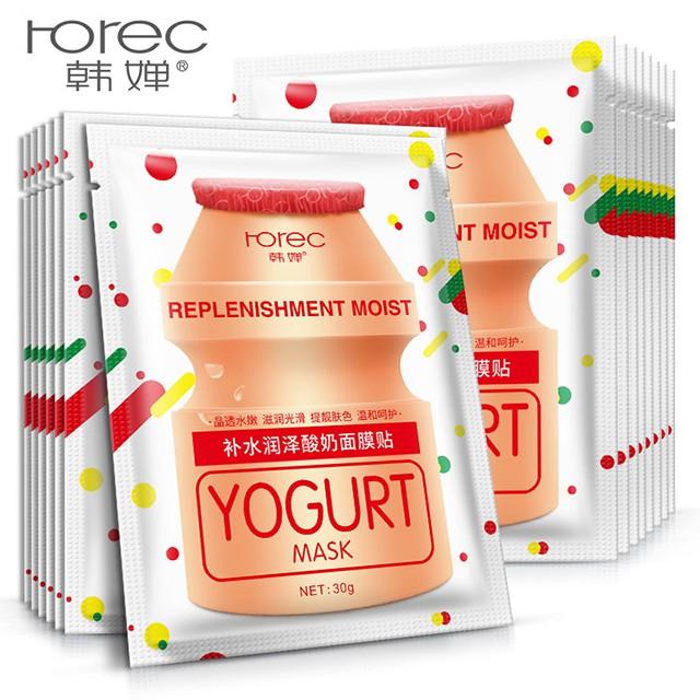 Lẻ 1 Miếng Mặt Nạ Sữa Chưa Yogurt