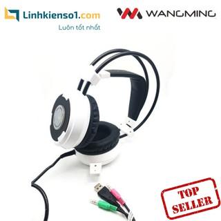 [Mã ELMAR10K giảm 10K đơn 20K] Tai nghe chụp đầu có míc WangMing WM8900 (Nhiều màu) thumbnail