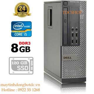 Máy Tính Để Bàn Dell Optiplex 7010 Intel Core I5 3470, Ram 8gb, ổ cứng ss 120gb, VGA rời quadro 600. Hàng Nhập Khẩu thumbnail
