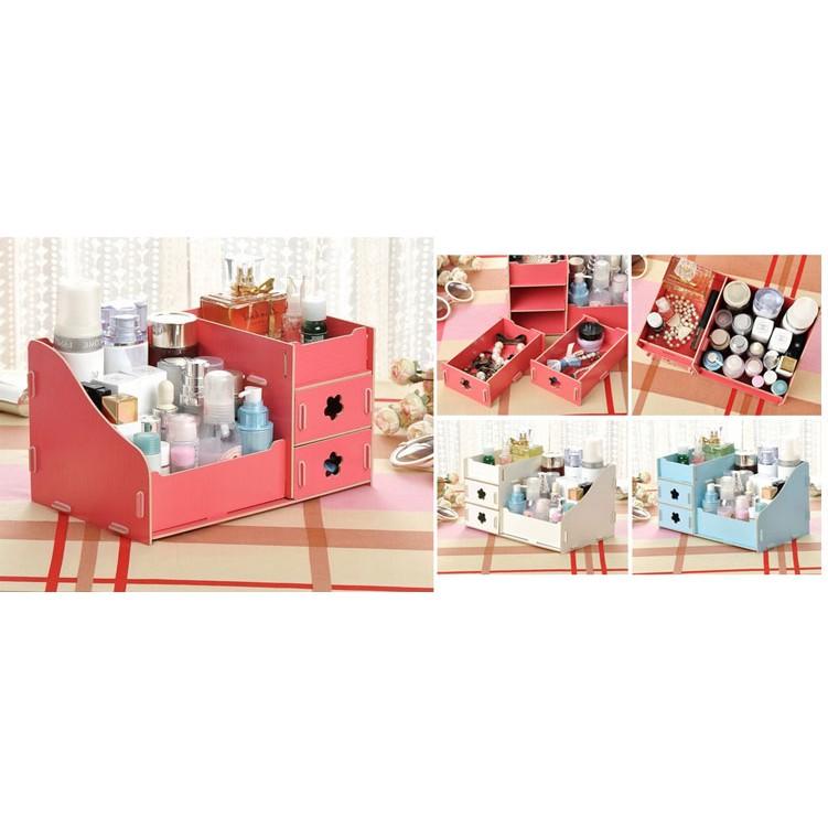 Kệ gỗ đựng mỹ phẩm 3 tầng (đỏ) - 2714556 , 63407606 , 322_63407606 , 88000 , Ke-go-dung-my-pham-3-tang-do-322_63407606 , shopee.vn , Kệ gỗ đựng mỹ phẩm 3 tầng (đỏ)