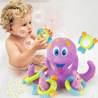 ♕Octopus Starfish Crab Lobster Rubber Floating Bath Toy Kids Baby Shower Gift