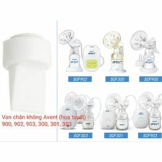1 Van chân không Avent (Hoa Tuyết) phụ kiện máy hút sữa điện và tay - Mã máy 900, 902, 903,300, 301, 303