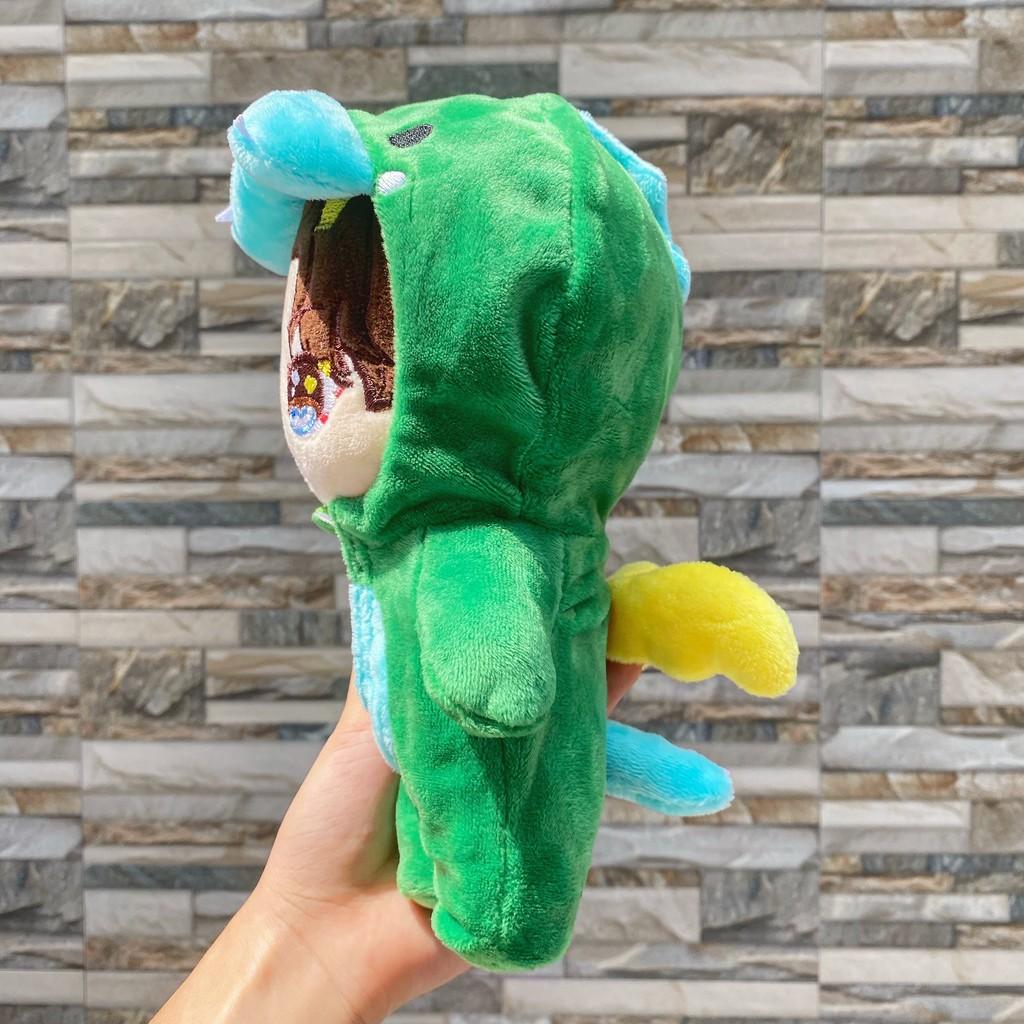( OUTFIT ) Outfit doll mẫu khủng long xanh đồ quần áo cho búp bê dễ thương xinh xắn idol...