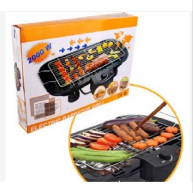 Bếp nướng điện cao cấp không khói Electric barbecue troll 2000w