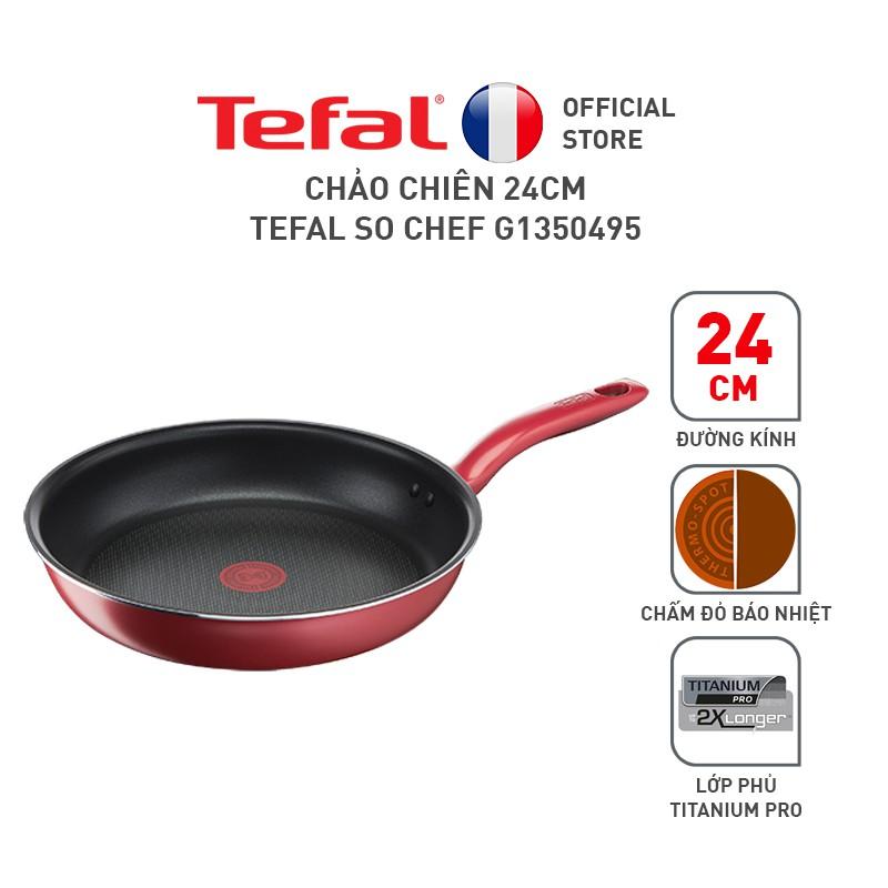 Chảo chiên 24cm Tefal So Chef G1350495