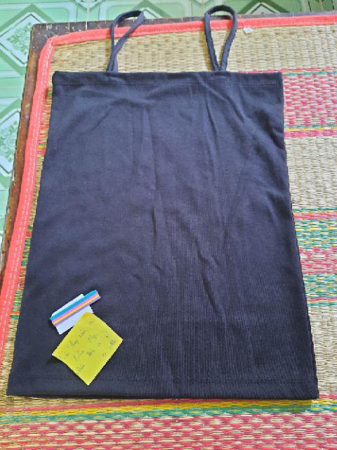 Đánh giá sản phẩm Áo 2 dây trơn 12 màu chất vải dày dặn cực đẹp ( Cún Shop) của nhibeautystore94