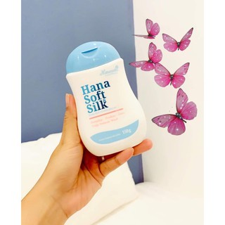 Dung dịch vệ sinh phụ nữ Hana Soft Silk chính hãng 4