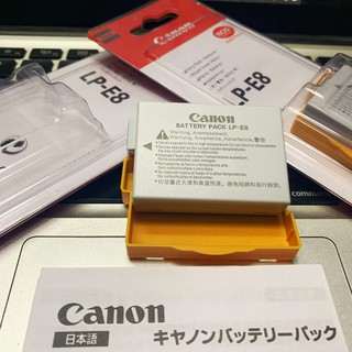 Pin Máy Ảnh Canon LP-E8 (LP E8 ) 1120mAh cho các loại máy Canon 550D, 600D, 650D, 700D