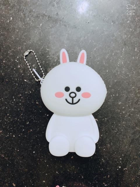 Túi đựng tiền silicon mini dễ thương