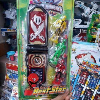 Điên thoại siêu nhân gao có đèn , nhạc. thumbnail