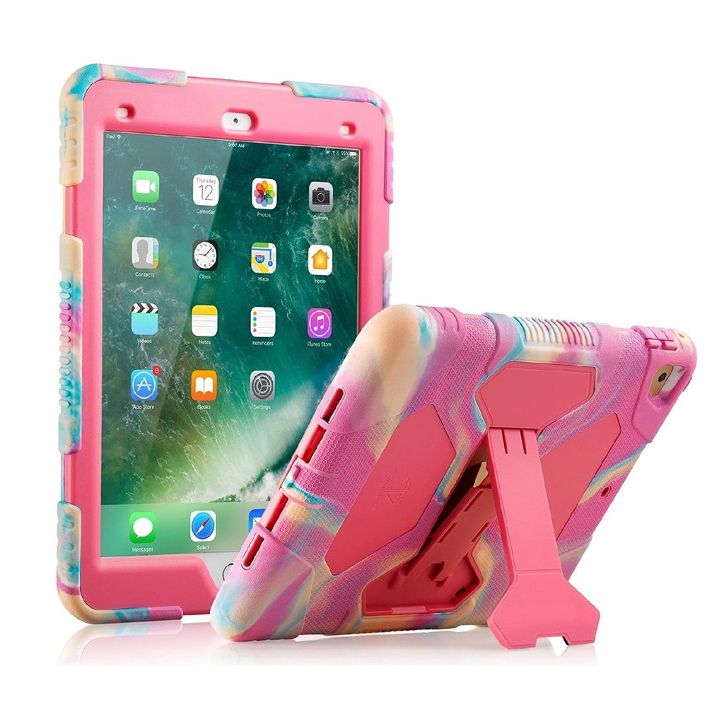 Ốp lưng ipad, Ốp Ipad Silicone cao cấp chống sốc, chống bám vân tay Ipad mini 1/2/3, Ipad mini 4/5, Ipad Air 2/ Pro 9.7