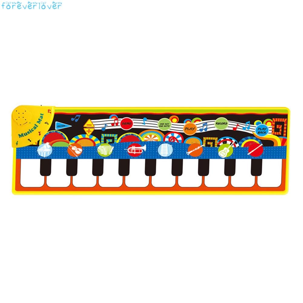 Musical Piano Mat Play Mat Kids Early Education Music Toys Music Mat Dance Mat Birthday Gift for Girls Boys