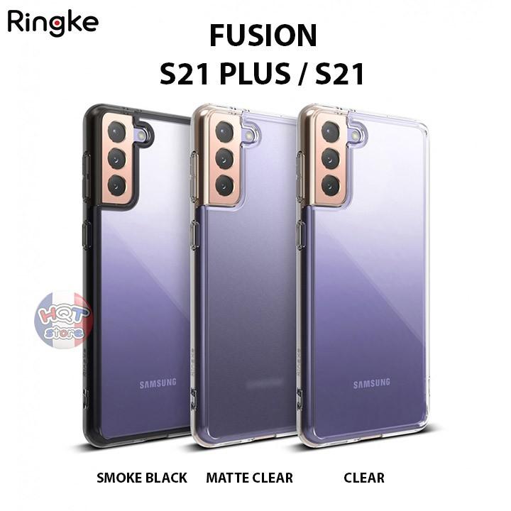 Ốp lưng chống sốc Ringke Fusion Samsung S21 Plus / S21 chính hãng - Hàng nhập khẩu