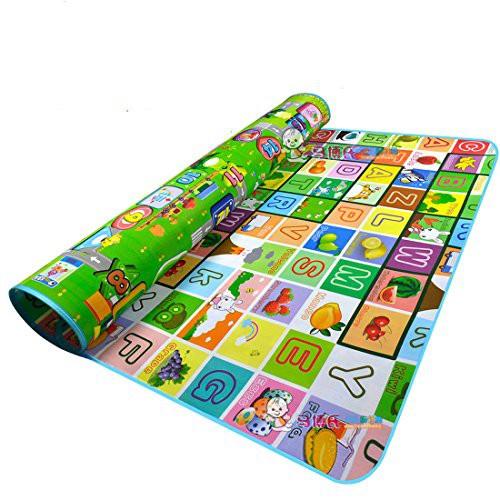 Thảm chơi 2 mặt cỡ lớn cho bé Maboshi 1m8 x 2m - 3615352 , 1213652118 , 322_1213652118 , 119000 , Tham-choi-2-mat-co-lon-cho-be-Maboshi-1m8-x-2m-322_1213652118 , shopee.vn , Thảm chơi 2 mặt cỡ lớn cho bé Maboshi 1m8 x 2m