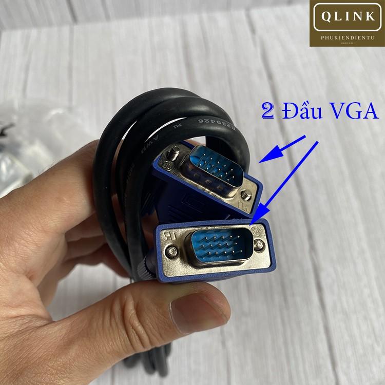 Dây VGA, cáp VGA dài 1,5m chống nhiễu cực tốt giá cực hợp lý mới 100%