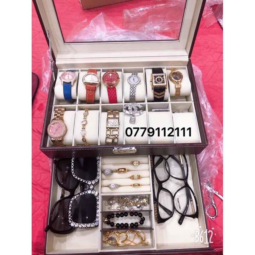 (SALE LỚN) hộp đựng đồng hồ và trang sức