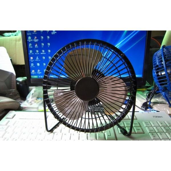 [TOP BÁN CHẠY] Quạt lồng sắt để bàn USB Fan 360 độ