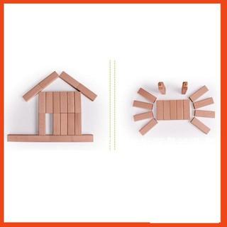 [HOT SALE] Bộ đồ chơi rút gỗ thông minh 54 thanh loại to cho bé