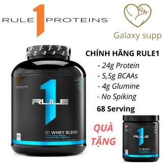 (Tặng BCAA) Whey protein Rule1 Blend R1 68 lần dùng