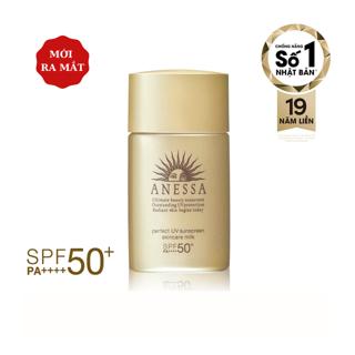 Sữa chống nắng dưỡng da bảo vệ hoàn hảo Anessa Perfect UV Sunscreen Skincare Milk 20ml _16170 thumbnail