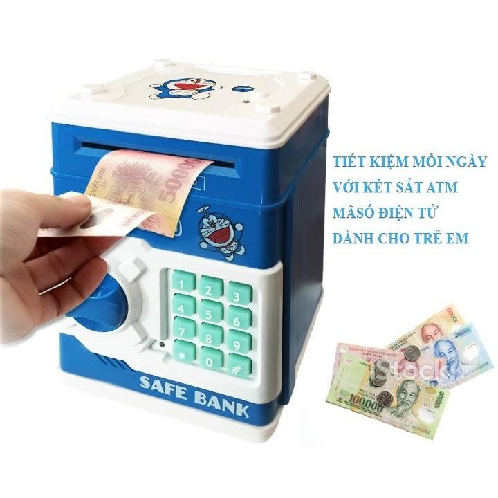 Két mini đựng tiền thông minh mở bằng mã số