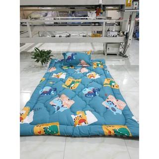 Topper nệm trải giường hoặc trải sàn 100% cotton bảo hành 1 năm