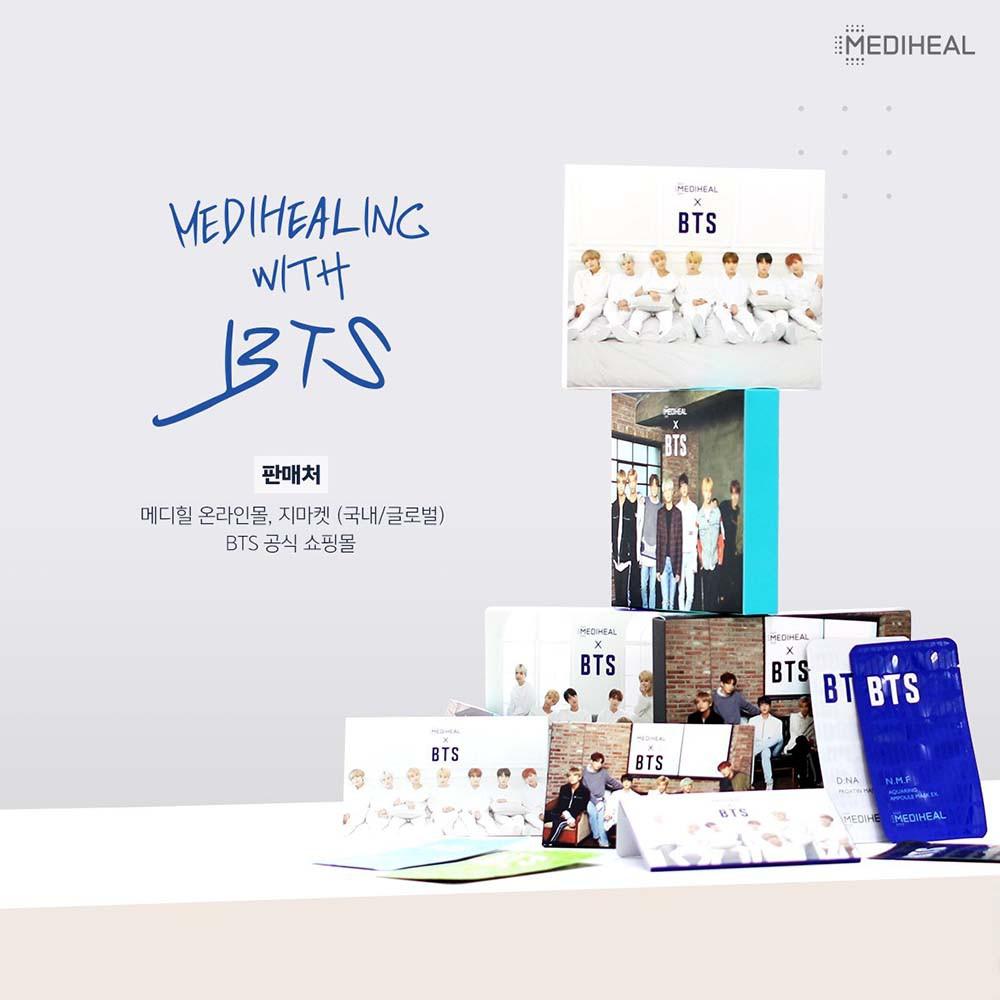 Mediheal - Bộ sưu tập BTS x Mediheal