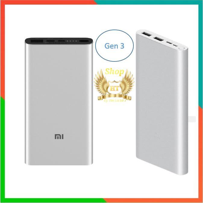 [Xiaomi Gen 3] Sạc Dự Phòng Xiaomi Gen 3  10000mAh SẠC NHANH 18W