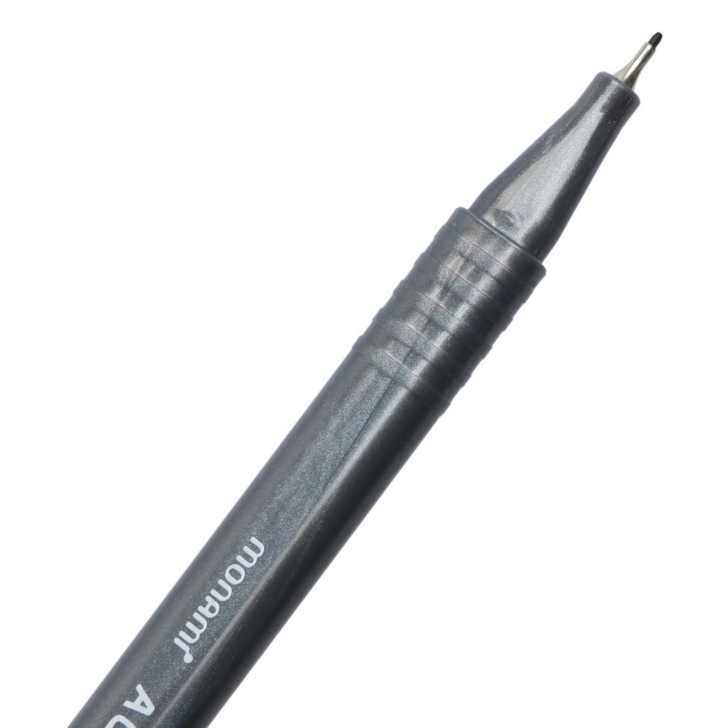 Fineliner bút lông kim 0.3mm Aqua Plus Monami, màu sắc đa dạng, chất lượng cao và được kiểm tra kỹ trước khi giao hàng