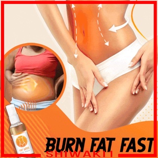 [SHIWAKI1] Slimming Spray Essential oil Spray Organic for Body Knees Buttocks Abdomen