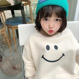 Đầm Nỉ Dài Tay In Họa Tiết Hoạt Hình Phong Cách Hàn Quốc Dành Cho Nữ Size 140