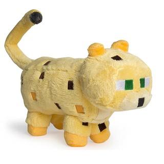 Thú nhồi bông Minecraft Mèo Rừng Vàng Gấm