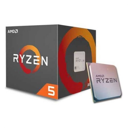 AMD YD1600BBAEBOX Ryzen 5 1600 Processor with Wraith Spire Cooler