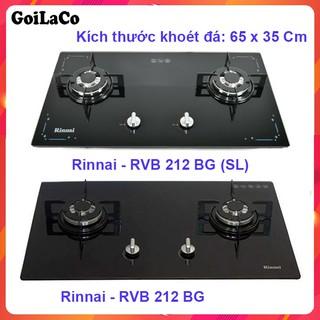 Hình ảnh Bếp gas âm Rinnai RVB-212BG – Ngắt gas tự động – Đánh lửa IC - màu đen.-1