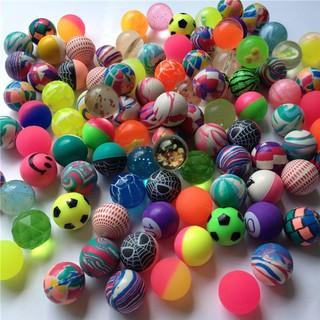 Bộ 10 quả bóng cao su nhỏ đường kính 30mm