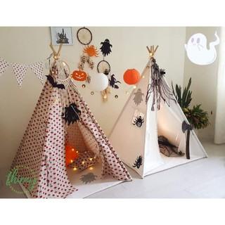 Lều vải cho bé cao cấp vải cotton canvas gỗ tự nhiên, lều vải Thiên Ý an toàn cho bé. Ảnh shop tự chụp