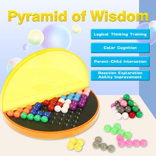 178 Challenges Children Pyramid 3D Puzzle Toys Logical Mind Desktop Party Game Intellectual Development Education Toys