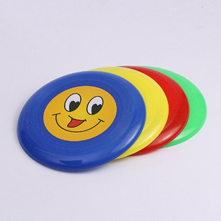 Plastic Round Smile Toy Kids Throw Catch Outdoor Game Sports Toy Gift