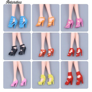 ♥♥♥20Pairs Shoes s Barbie 11inch Doll Dollhouse Accessory