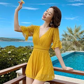 order. Áo tắm nữ 2019 mới thủy triều kết hợp bảo tồn bụng giảm béo che bụng cỡ lớn