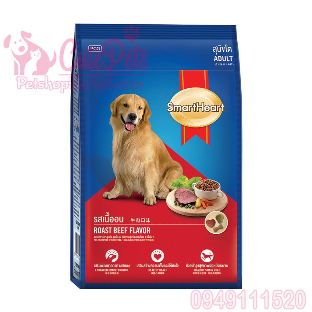 Thức ăn chó lớn Smart Heart Adlut 400g Vị thịt bò nướng - CutePets Phụ kiện chó mèo Pet shop Hà Nội - 15300617 , 619174758 , 322_619174758 , 20000 , Thuc-an-cho-lon-Smart-Heart-Adlut-400g-Vi-thit-bo-nuong-CutePets-Phu-kien-cho-meo-Pet-shop-Ha-Noi-322_619174758 , shopee.vn , Thức ăn chó lớn Smart Heart Adlut 400g Vị thịt bò nướng - CutePets Phụ kiện c