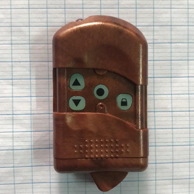 Remote cửa cuốn 8 Mã số gạt sóng 315