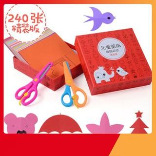 [SIÊU KM] Bộ đồ chơi cắt giấy tạo hình cho bé   Toàn Quốc
